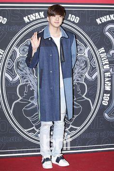 160326 Thunder at Seoul Fashion Week Seoul Fashion, Thunder, Denim, Jackets, Down Jackets, Jacket, Jeans