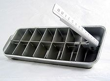 Ice cube trays, I really hated these. You had to run hot water over them briefly to make them work and they still HURT your hands.