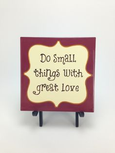 "Great Love 6"" Tile"