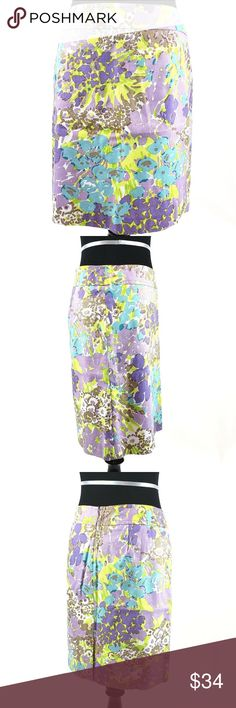 Chaps by Ralph Lauren Women/'s Batik Empire Maxi Dress Purple Cream S M XL NWT