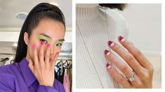 Nail Designs, Hairstyle, Nails, Earrings, Jewelry, Fashion, Hair Job, Finger Nails, Ear Rings