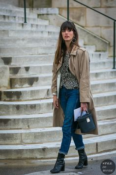 Louise Follain by STYLEDUMONDE Street Style Fashion Photography