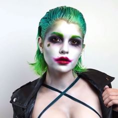 "Good afternoon Gothamites and have a fantastic Friday! Today we'll continue our session ""Batman in the 1970s""! For #FanArtFriday, here is artist Sarah McGonagle @SarahMcGBeauty's makeup tutorial of her Lady Joker to the song ""Heathens"" by @TwentyOnePilots from Suicide Squad: The Album""! elements inspired by big screen Clown Princes of Crime Jack Nicholson, Heath Ledger and our newest cinematic Joker, Jared Leto! Check out @SarahMcGBeauty's gallery to read all the hair/makeup used to create…"