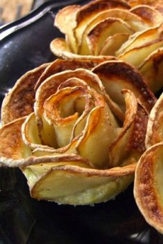 This crispy potato roses recipe is almost too pretty to eat!