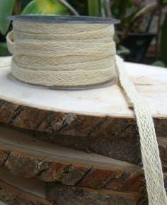 Natural cotton for ribbon