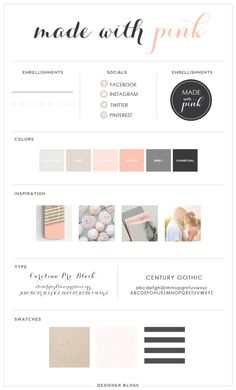 Featured Design | Made With Pink - Blog Design | Blogger Templates - Designer Blogs Blogger Templates, Templates Free, Web Design, Media Design, Graphic Design, Branding Design, Branding Ideas, Catalog Design, Blog Designs