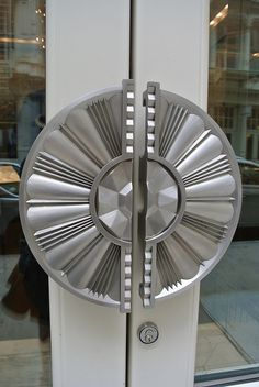 Door handles to outside balconies in places like the Alphabet District in New York.....
