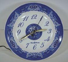 Charles Denning - Royal China clock plates
