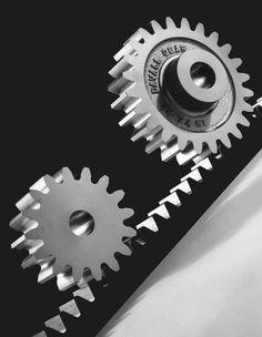 spur gear and spur rack, Metal Projects, Machine Design, Steam Punk, Gears, Engineering, Cartoon, Gear Train, Steampunk, Cartoons