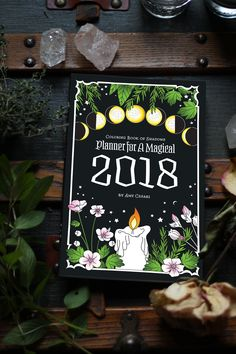 Planner for a Magical 2018 - Coloring Book of Shadows