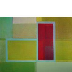 """08291"" 110 x 145 cm oil on canvas 1991"