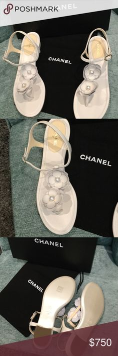 BNWT CHANEL SANDALS SZ 41 Beautiful CHANEL Shoes Sandals