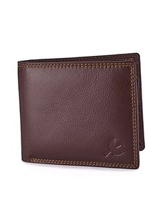 1711bbbc Hornbull Men's Brown Wallet and Belt Combo This Hornbull Combo Gift set  comes with an elegant