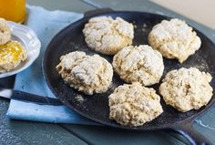 Recipe: (Fluffy and Tender) Plant Strong Biscuits — Fo Reals Life Vegan Biscuits, Drop Biscuits, Whole Food Recipes, Vegan Recipes, Cooking Recipes, Whole Grain Flour, How To Make Biscuits, No Bake Treats, Biscuit Recipe