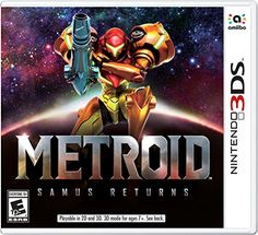 Metroid: Samus Returns  This action-packed, side-scrolling shooter has been completely remadewith engaging and immersive 3D visuals and a rich, atmospheric colorpalette…  Read More  http://techgifts.mobi/shop/metroid-samus-returns/