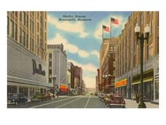 1957 Nicollet Ave Street Scene, Donaldson's, Minneapolis, MN Postcard in United States > Minnesota > Other Minnesota Home, Minneapolis Minnesota, Feeling Minnesota, Toulouse, Yosemite National Park, National Parks, Twin Cities, Paris, Vintage Postcards