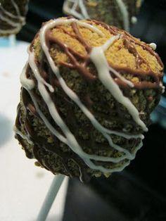 Sugar Glitz: Marshmallow Pops-S'Mores!