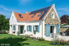 Hagyományőrzés a Balaton-felvidéken - Szép Házak Old Country Houses, Old Houses, Home Projects, Countryside, New Homes, Home And Garden, Cottage, House Styles, Rustic