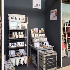 Jin Designs Trade Stand - All set up and ready for Pulse Trade Fair Craft Stall Display, Market Stall Display, Craft Fair Displays, Market Displays, Display Ideas, Craft Booths, Booth Displays, Jewelry Displays, Stand Design