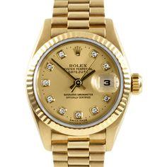 Rolex Women's 18-karat President Watch
