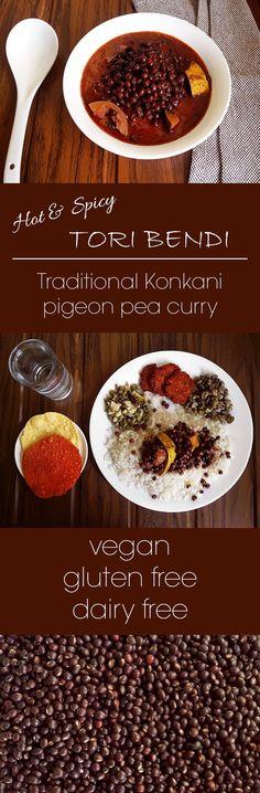 Tori Bendi – Pigeon pea chili curry (Vegan + Gluten Free)