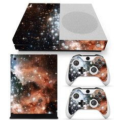 Love this!  http://www.hellodefiance.com/products/stardust-skin-xbox-one-slim-protector?utm_campaign=social_autopilot&utm_source=pin&utm_medium=pin