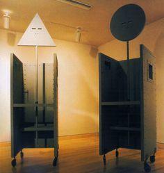 John Hejduk and David-Shapiro, The Devil's Chairs, 1985