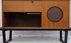 George Nelson Stereo Cabinet by Herman Miller