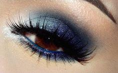 Sombra azul, ojos marrones - Nisage