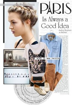 """Paris Is Always A Good Idea"" by browneyez ❤ liked on Polyvore"