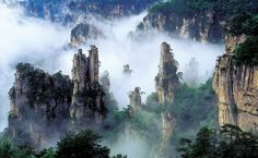 Tianzi Mountains, China | Tianzi Mountains, China