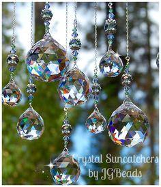 Magic Window! Unique Crystal Suncatchers by JGBeads.com #suncatchers #Rainbow ☼