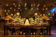 decoração de casamento samambaia - Pesquisa Google