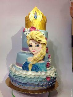 Torta Elsa Frozen