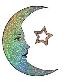 Moon and Stars Gleam Animated Heart Gif, Pale Grunge, Amazing Gifs, Moon Shadow, Beautiful Moon, Star Stickers, Tumblr, Symbols, Animation