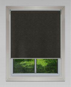 Blockout Portsea - Charcoal #roller #blinds