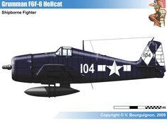 Grumman F6F-6 Hellcat