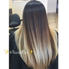 Blond Balayage On Light Brown Hair Ice Blonde Hair, Dark Blonde Hair Color, Ombre Hair Color, Icy Blonde, Brown Hair With Blonde Ends, Hair Colors, Red Ombre, From Brunette To Blonde, Dark To Blonde Balayage
