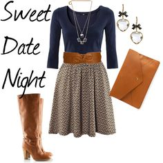 Sweet Date Night, created by stalvho.polyvore.com