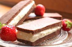Leckere Low Carb Milchschnitten, wie man sie aus Kindertagen kennt. Perfekt als Snack für Zwischendurch oder als Frühstück. Kohlenhydratarm, gelingsicher & einfach gut.