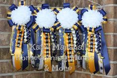 Pee Wee Mums for the moms of little football players! www.facebook.com/txhomecoming Montgomery/Conroe, TX Katie Marshall-Homecoming Mums & More