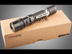 Best Utility/EDC Flashlight For Preppers - Thrunight TN12 1050 Lumen - YouTube