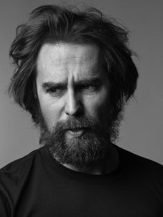 """Sam Rockwell - """"I think any good actor is an anarchist"""" """"It does something to you. It makes you a bit odd, and oddness...can equate into danger. What people don't understand they fear. And on film that translates into danger."""" / Photography: Mark Abrahams"""