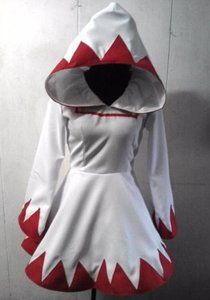 Final Fantasy 9 Princess Garnet white mage coat w/ petticoat.