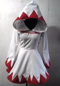 Final Fantasy 9 Princess Garnet white mage coat w/ petticoat.