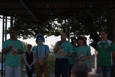 """""""Dengue: nem vem que não tem!"""" Esse foi o tema da passeata realizada pelas ruas do centro de Nova Odessa, organizado pela prefeitura municipal e a IASD Central, no último sábado, dia 23 de maio. Foram conscientizados os moradores locais e comerciantes sobre a prevenção da transmissão do mosquito da Dengue. Durante a passeata, foram distribuídos os livros """"Viva com Esperança"""". Desfecho na praça central com a apresentação da Turminha Legal. Foi um grande evento abençoado por Deus!"""