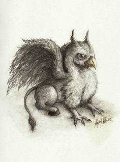 baby hippogriff by Smut-Slut.deviantart.com on @deviantART