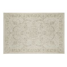 Victoriana Traditional Cotton and Wool Rug