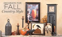 Decorate For Fall, Country Style