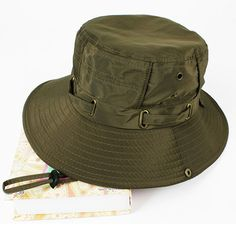 fd3b9f5b55f2ac Navy_(US Seller)Unisex Hat Wide Brim Hiking Bucket Safari Cap Outback --  Check out the image by visiting the link. (This is an affiliate…